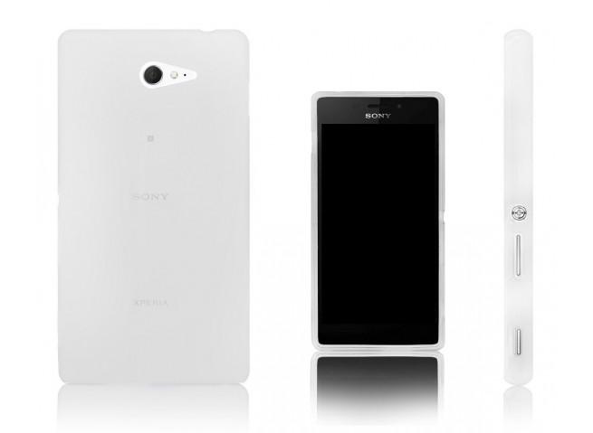 Coque Sony Xperia M2 Regular Flex-Translucide
