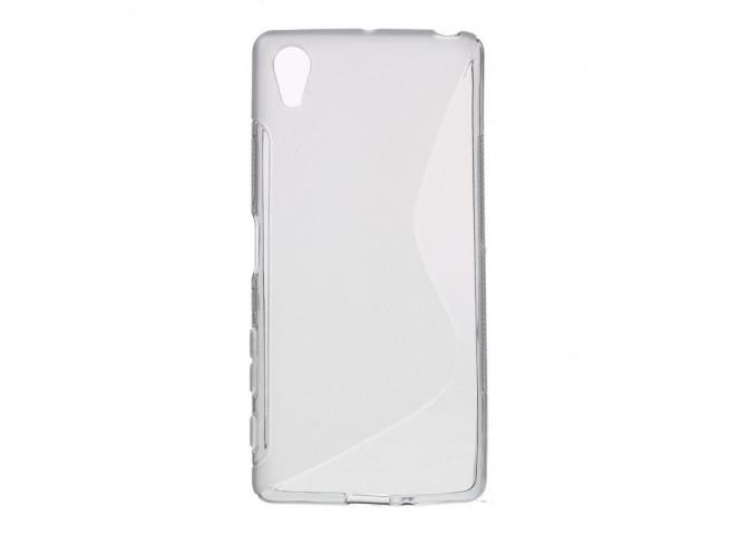 Coque Sony Xperia X Silicone Grip-Translucide