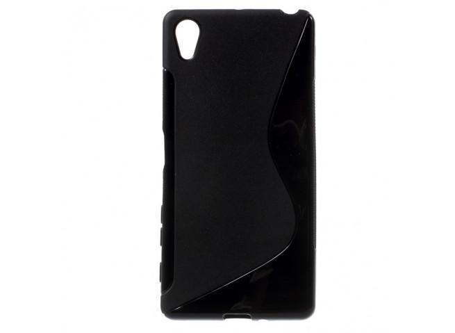 Coque Sony Xperia XA Silicone Grip-Noir