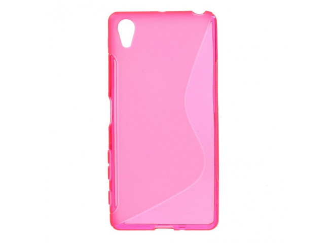 Coque Sony Xperia X Silicone Grip-Rose