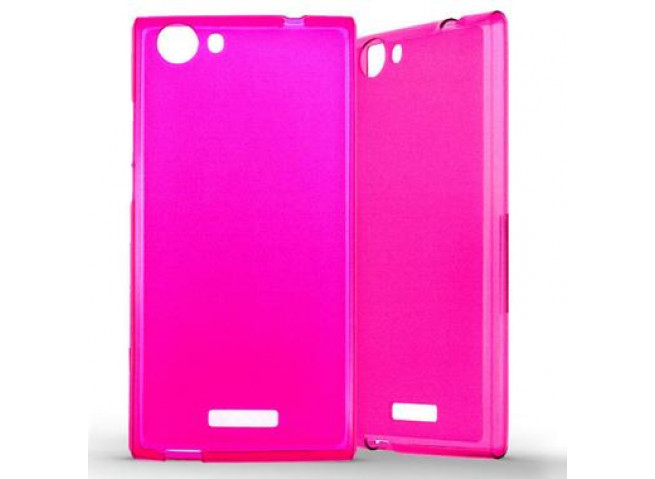 Coque Wiko Ridge Fab 4G Regular Flex-rose