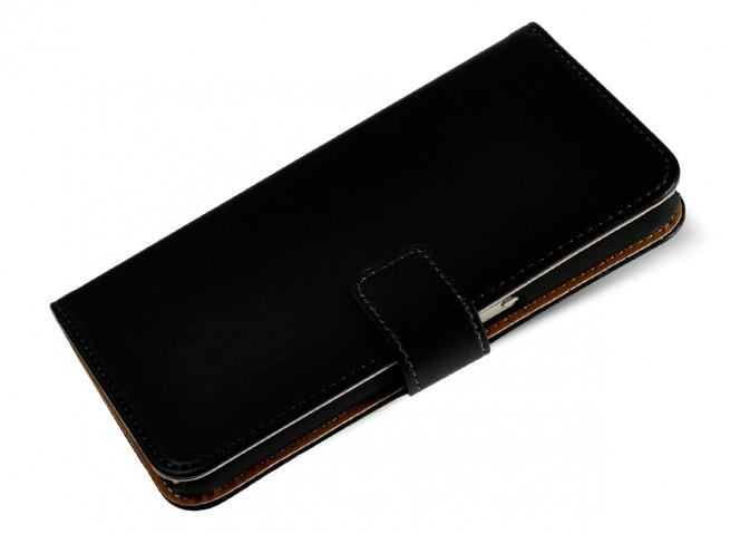 Etui Sony Xperia E5 Black Leather