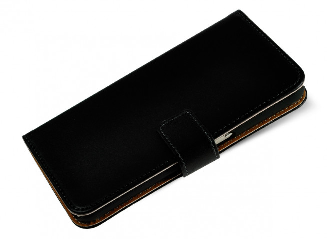 Etui Sony Xperia XA Ultra Leather Wallet-Noir
