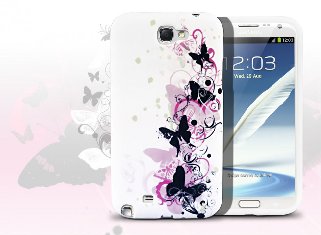 Coque Sony Xperia E4 Butterfly flex