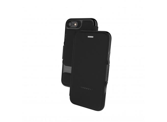 Etui iPhone 6/6S/ iPhone 7 / iPhone 8/SE 2020 Gear4 D3O Oxford Noir