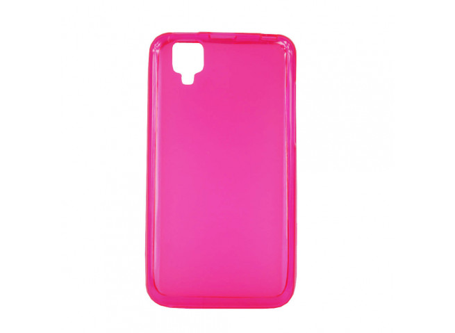 Coque Wiko Goa Regular Flex-rose