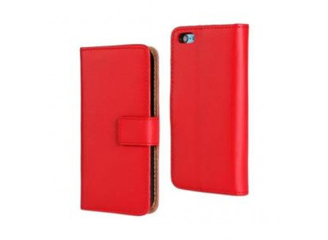 Etui Samsung Galaxy S10 Leather Wallet-Rouge