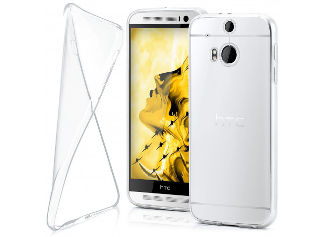 Coque HTC One M8 Clear Flex