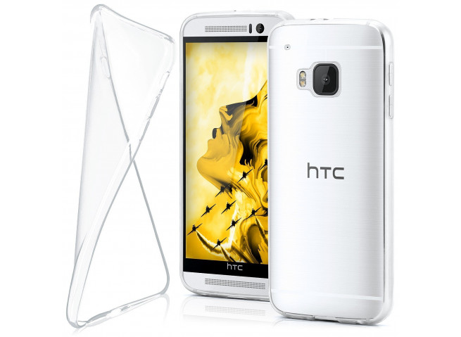 Coque HTC One M9 Clear Flex