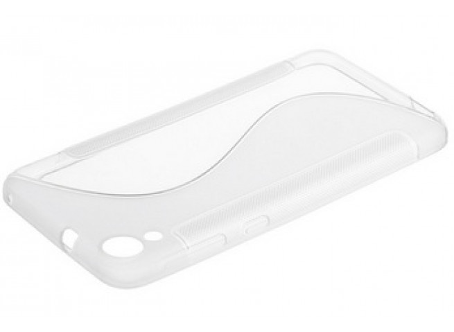 Coque HTC Desire 820 Silicone Grip Translucide