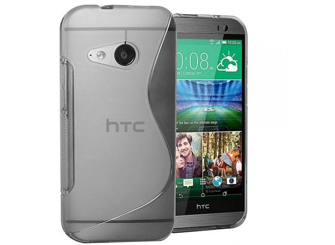 Coque HTC U Play Silicone Grip Transparente