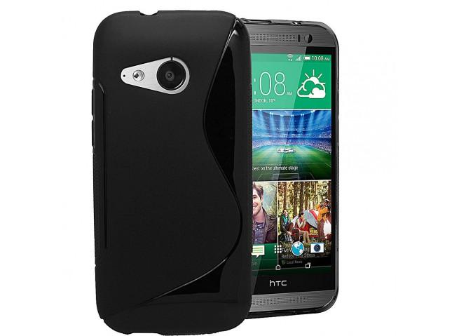 Coque HTC U Play Silicone Grip Noir