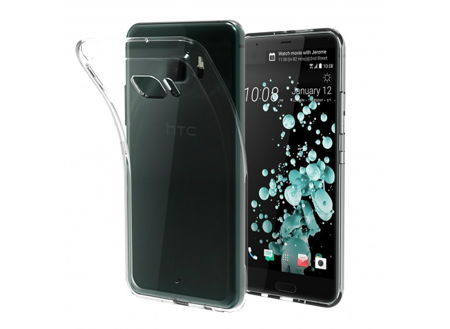 Coque HTC U Ultra Clear Flex