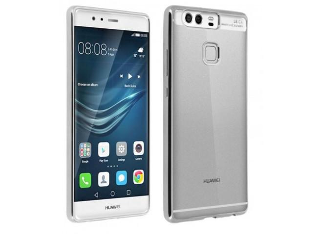 Coque Huawei P Smart Silver Flex