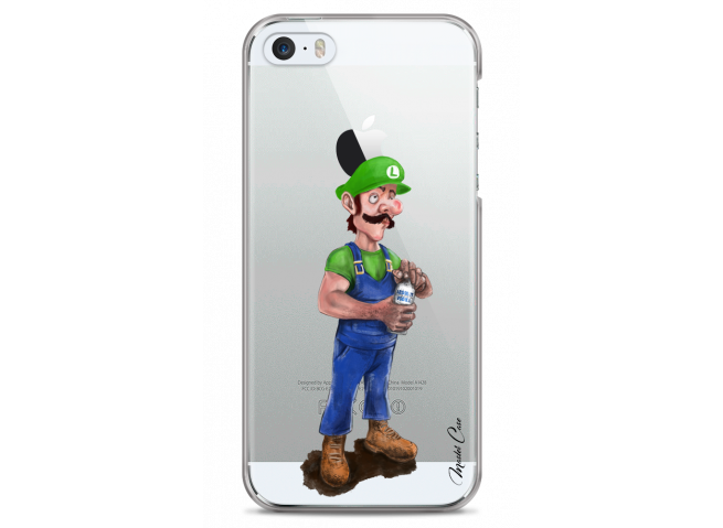 Coque iPhone 5/5S/SE Luigi