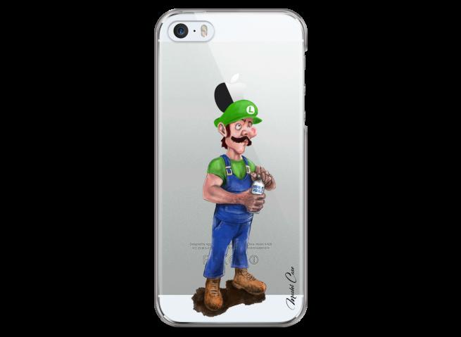 Coque iPhone 5C Luigi