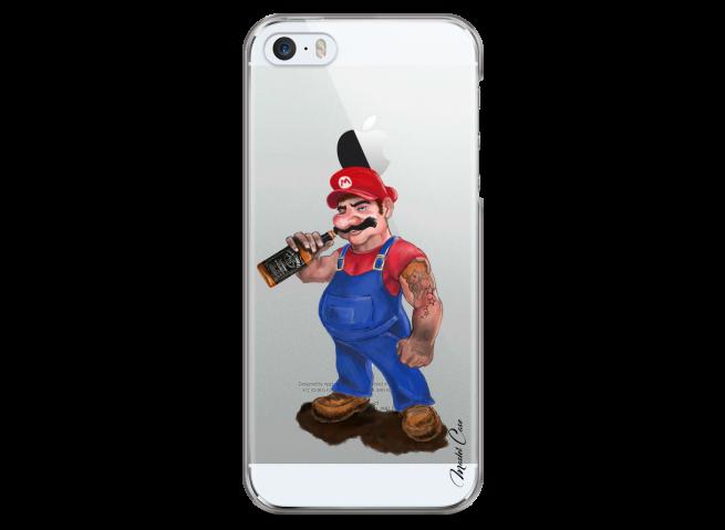 Coque iPhone 5/5S/SE Mario