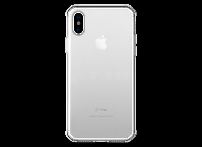 Coque iPhone X Clear Hybrid