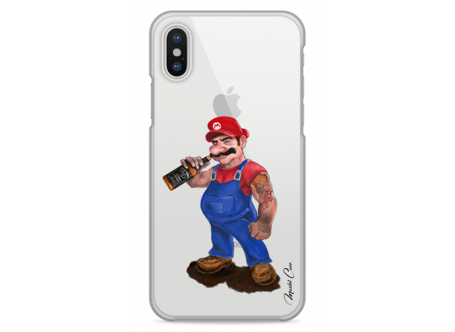 Coque iPhone X Mario