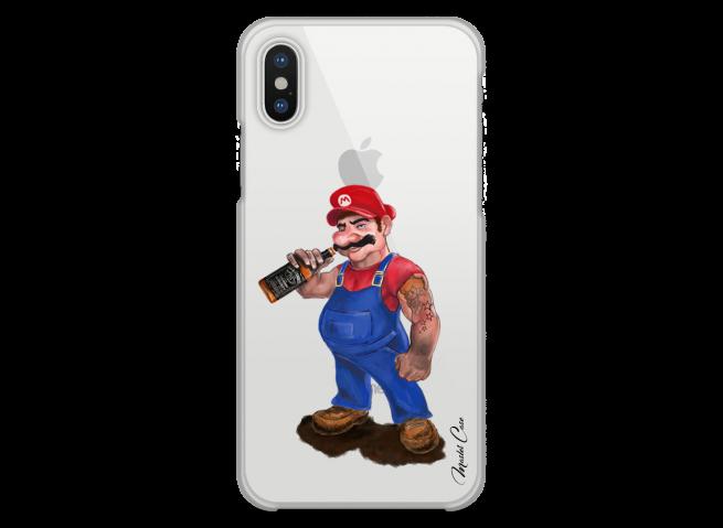 Coque iPhone XR Mario