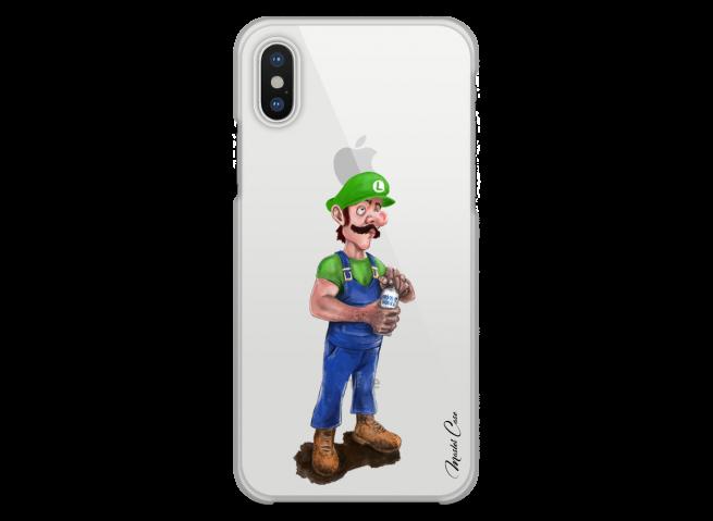Coque iPhone XR Luigi