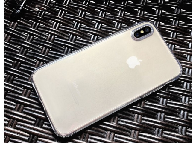 Coque iPhone X Clear Flex