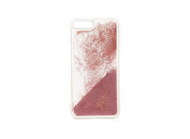 Coque iPhone 7 Plus/ iPhone 8 Plus Liquid Pearls-Rose