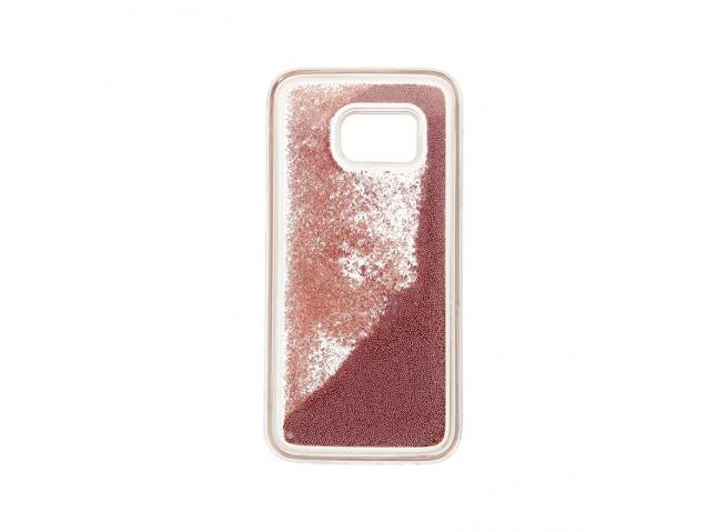Coque Sony Xperia XA1 Liquid Pearls-Rose