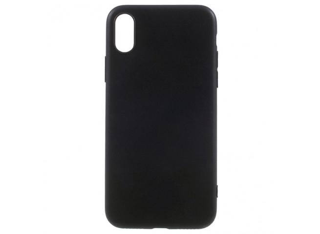Coque iPhone XS Max Pastel Case Noir