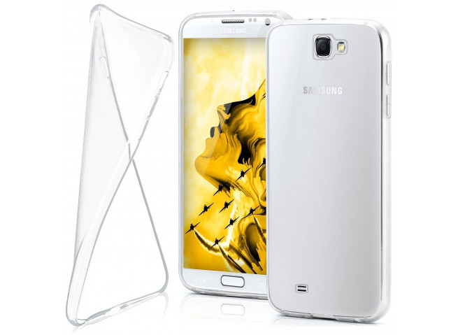 Coque Samsung Galaxy Note 2 Clear Flex