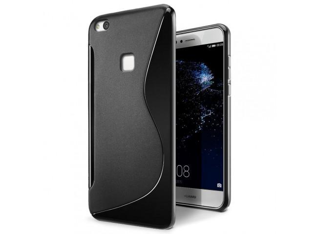 Coque Huawei P10 Lite Silicone Grip Noir
