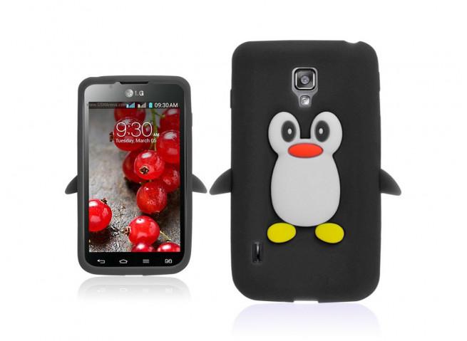 Coque LG Optimus L7-2 Pingouin