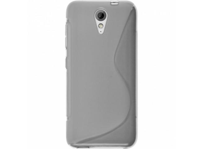 Coque HTC Desire 620 Silicone Grip Transparent