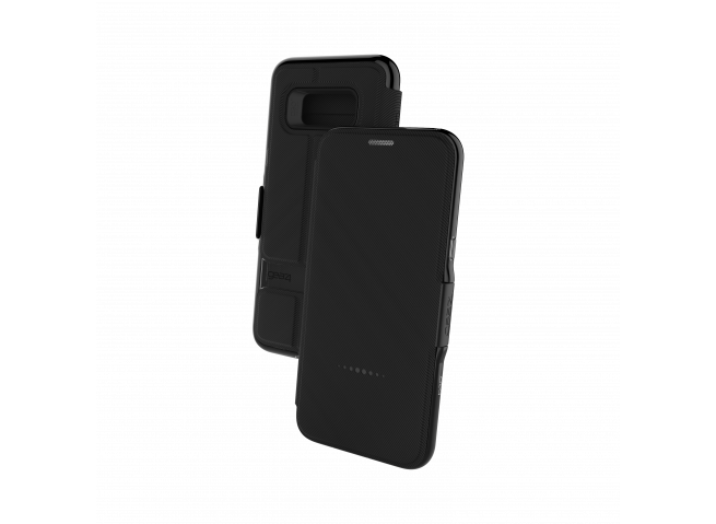 Etui Samsung Galaxy S8 Gear4 D3O Oxford Noir