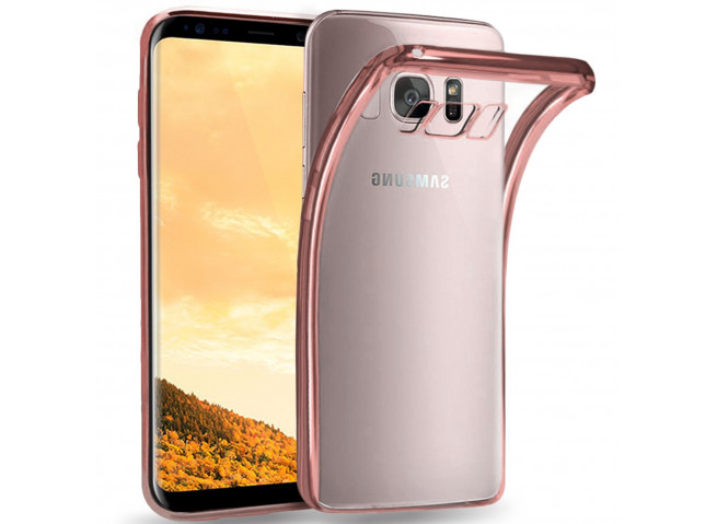 Coque Samsung Galaxy S6 Rose Gold Flex
