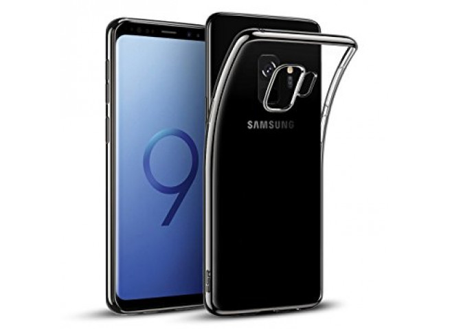 Coque Samsung Galaxy A8 2018 Silver Flex