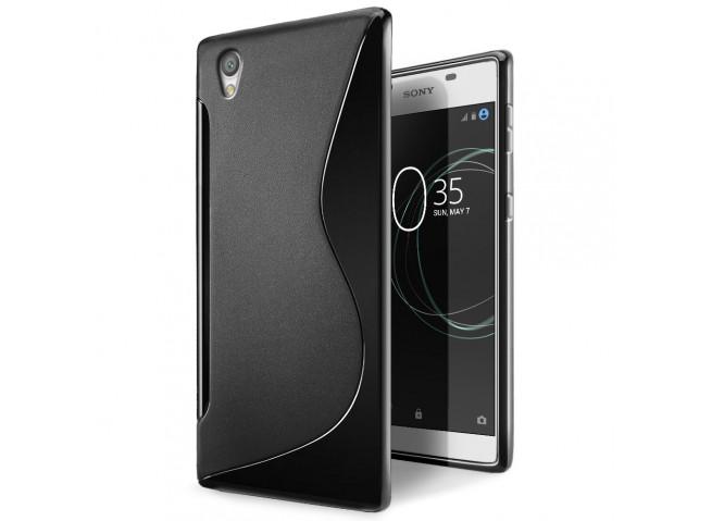 Coque Sony Xperia L1 Silicone Grip-Noir