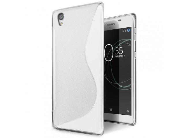 Coque Sony Xperia L1 Silicone Grip-Translucide