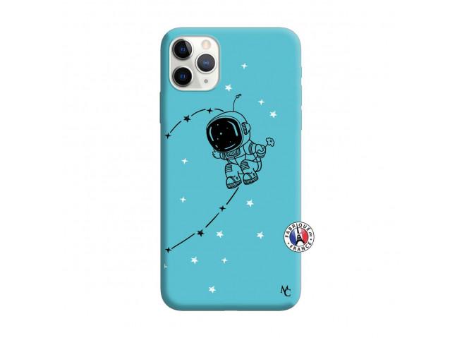 Coque iPhone 11 PRO MAX Astro Boy Silicone Bleu