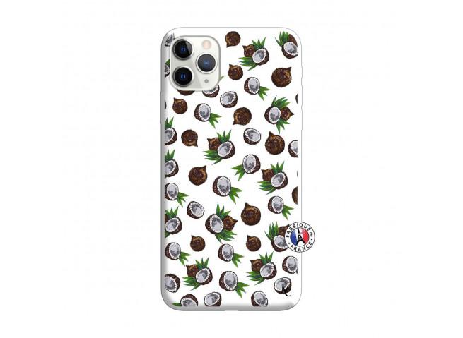 Coque iPhone 11 PRO MAX Coco Silicone Blanc