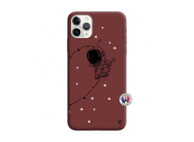 Coque iPhone 11 PRO Astro Boy Silicone Bordeaux