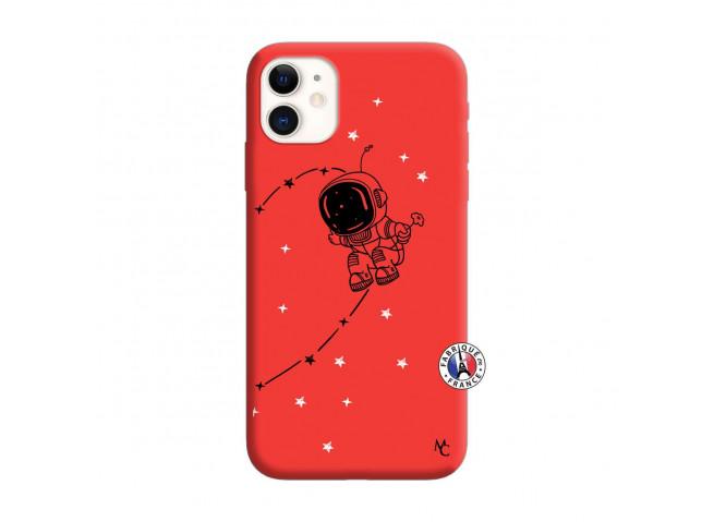Coque iPhone 11 Astro Boy Silicone Rouge