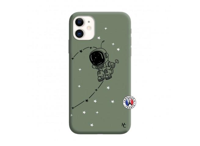 Coque iPhone 11 Astro Boy Silicone Vert