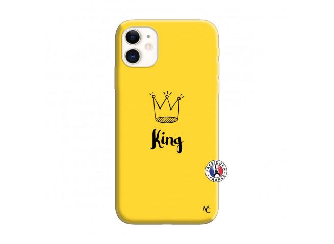 Coque iPhone 11 King Silicone Jaune