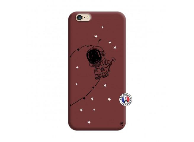 Coque iPhone 6/6S Astro Boy Silicone Bordeaux