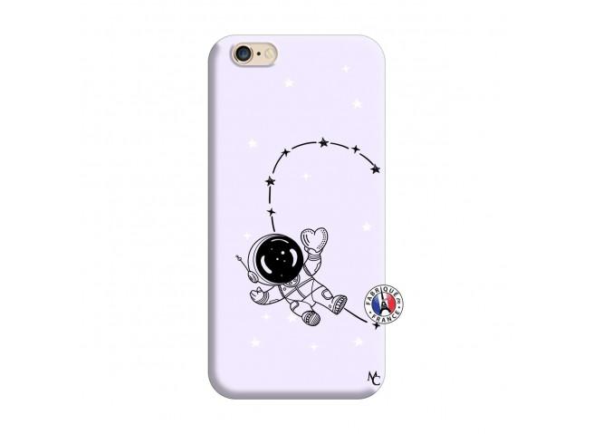 Coque iPhone 6/6S Astro Girl Silicone Lilas