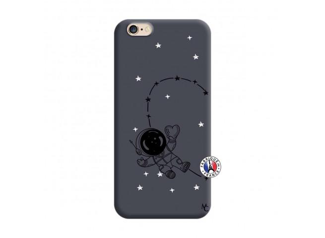 Coque iPhone 6/6S Astro Girl Silicone Navy