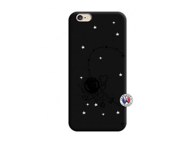 Coque iPhone 6/6S Astro Girl Silicone Noir