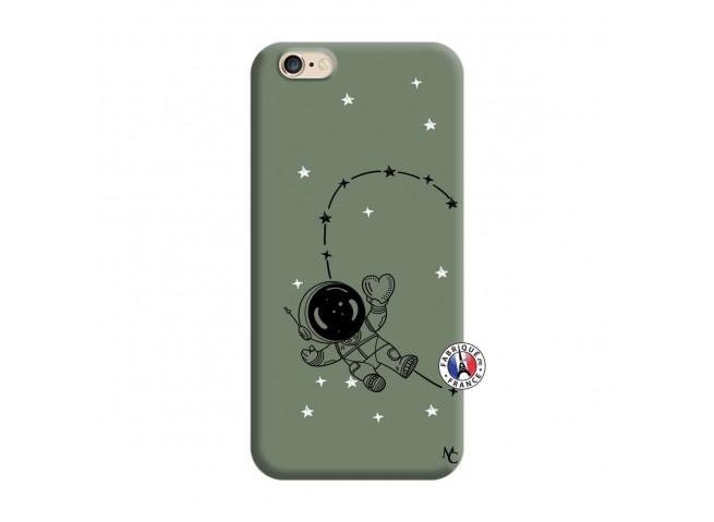 Coque iPhone 6/6S Astro Girl Silicone Vert