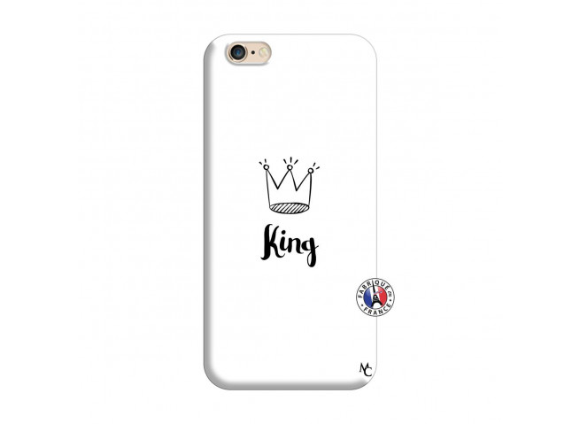 Coque iPhone 6/6S King Silicone Blanc